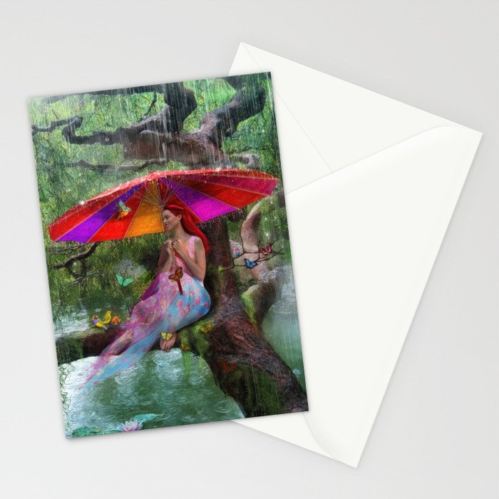 Cloudburst Stationery Cards