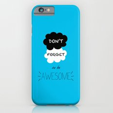 DFTBA TFIOS Nerdfighter Vlogbrothers Don't Forget to be Awesome, The Fault in Our Stars, John Green Slim Case iPhone 6s
