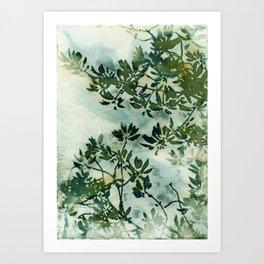 Wallpaper Foliage Art Print