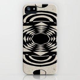 Octagonal Illusion iPhone Case