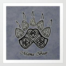 Mama Bear Art Print