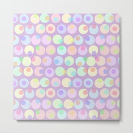 Pastel Abstracts 1 Metal Print