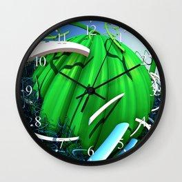 Spring Squash Wall Clock
