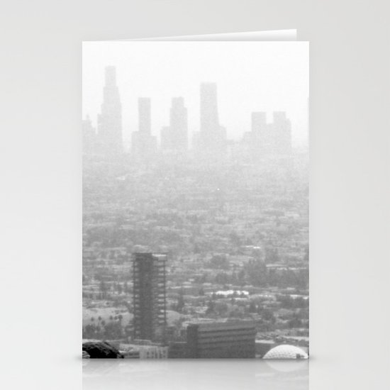 Distant City Stationery Cards