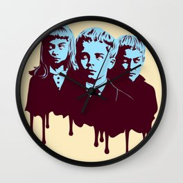 Scary Children Wall Clock