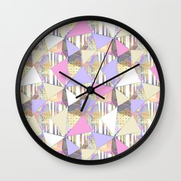 Cute abstract pattern. Wall Clock