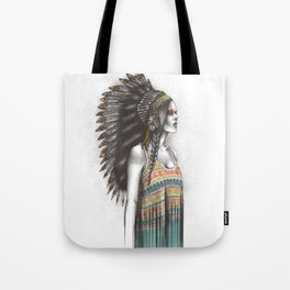 Silent Warrior Tote Bag