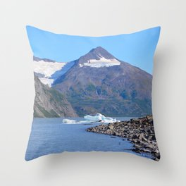 Iceberg! Throw Pillow