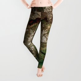 The Holy Cave of Covadonga Leggings