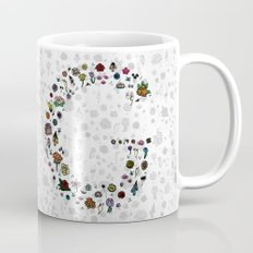 Letter G - Plants and Flower growth Mug