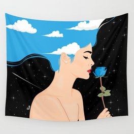 Scent of Blue Wall Tapestry