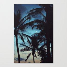 Honolulu Moon Canvas Print