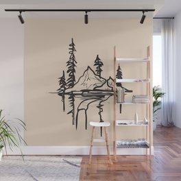 Abstract Landscpe Wall Mural