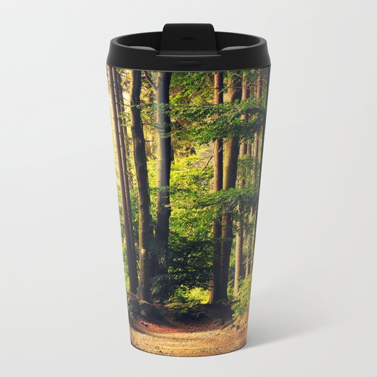 Woods Are Calling Metal Travel Mug