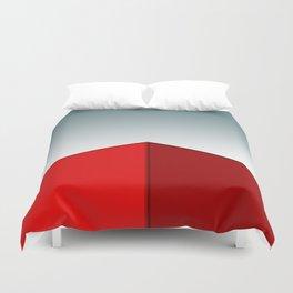 RED BOX Duvet Cover