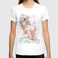 marie antoinette T-shirts featuring Marie Antoinette by Frances Louw
