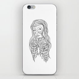 Princess of Death iPhone Skin