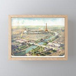 Paris World Fair 1900 Framed Mini Art Print