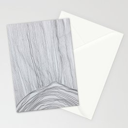 Mountain in Storm Stationery Cards