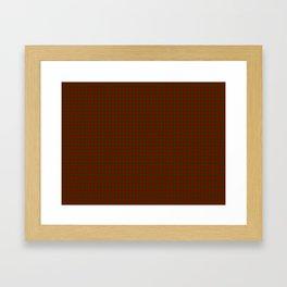 Cameron Tartan Framed Art Print