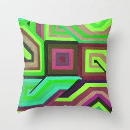 Love and Logic Colour Variation2 Throw Pillow
