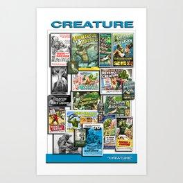 Vintage Creature by Iamjohnlogan Art Print