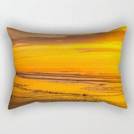 50 shades of gold Rectangular Pillow