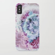 Fractal Whimsy Slim Case iPhone X