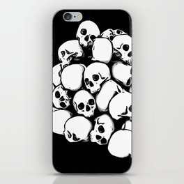 More Skulls iPhone Skin