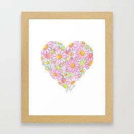 Innocent Heart Framed Art Print