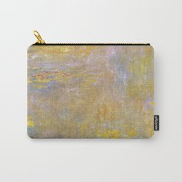 Sea-Roses by Claude Monet Carry-All Pouch