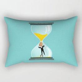 The Time Keeper Rectangular Pillow