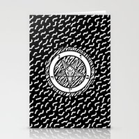 baphomet Stationery Cards featuring BAPHOMET by DIVIDUS