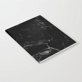 Black Marble Notebook