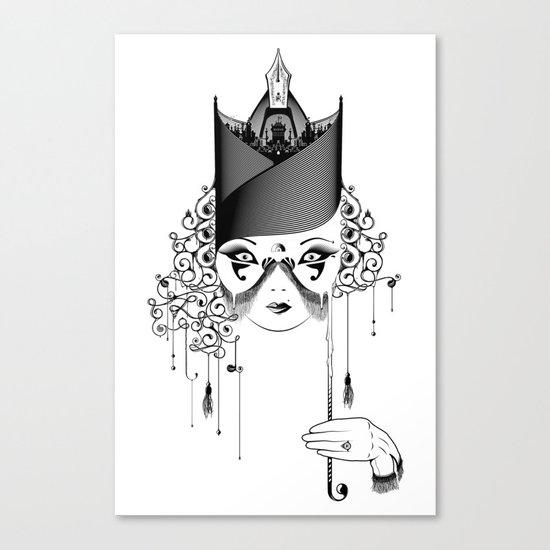 Maskjesty Canvas Print