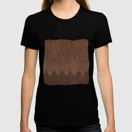 Cowhide two color T-shirt