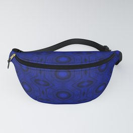 """Blue """"Mouth"""" Columns Fanny Pack"""