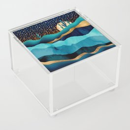 Indigo Desert Night Acrylic Box