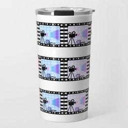 Movie stripes Travel Mug