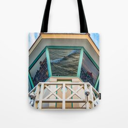 Surf City Reflects  Tote Bag