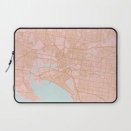 Melbourne map, Australia Laptop Sleeve