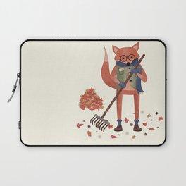 Ferdinand the Fall Fox Laptop Sleeve