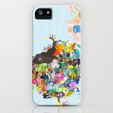 Adventure Time - Land of Ooo Katamari Slim Case iPhone (5, 5s)