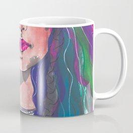 Dyed Curls Coffee Mug