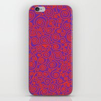 friday iPhone & iPod Skins featuring Friday by Bunyip Designs