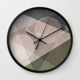 Abstraction , space , fantasy Wall Clock
