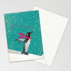 Joy Penguin Stationery Cards