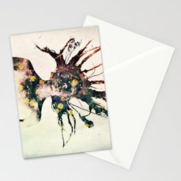 Earthy Medusa Roots Stationery Cards