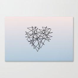 Tangled Heart  Canvas Print