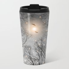 Nature Blazes Before Your Eyes 2 (Ash Embers) Metal Travel Mug